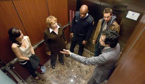 Ruhig bleiben. Es ist nur ein Fahrstuhl. Nur (Foto: Universal Pictures)