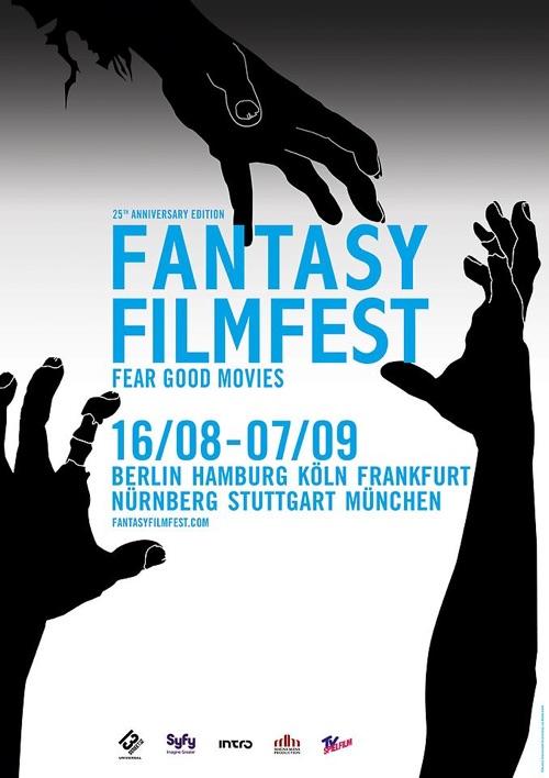 25 Fantasy Filmfest Plakat