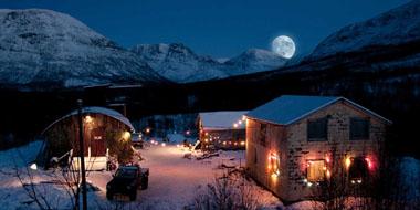 Lappland bei Nacht (Foto: Splendid Film)