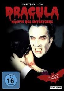 """""""Dracula - Nächte des Entsetzens"""" auf DVD von Studiocanal"""