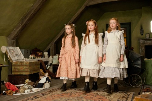 Für die drei Mädchen ist der Film gleich zu Ende (Foto: Concorde Filmverleih GmbH)