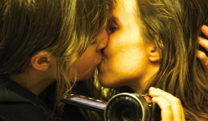 Knutschen für die Kamera (Foto: Splendid Film)