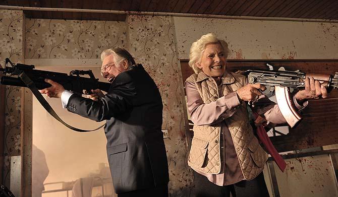 Ballern statt Bingo: Englische Rentner engagieren sich für die Gesellschaft (Foto: Studiocanal)