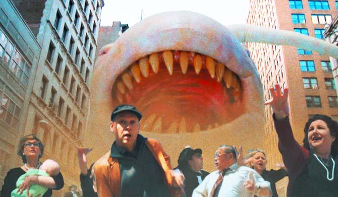 Das ist nicht Bruce, das ist Moster-Sperm (Foto: Sunfilm)