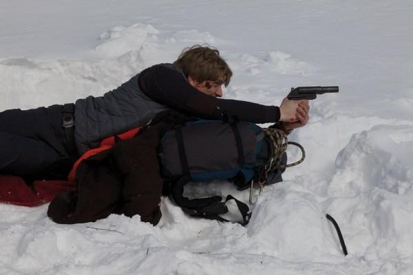 Schießübungen im Schnee (Foto: Ascot Elite)
