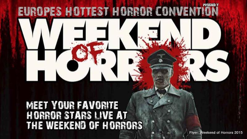 Gewinnspiel zum Weekend of Horrors 2015
