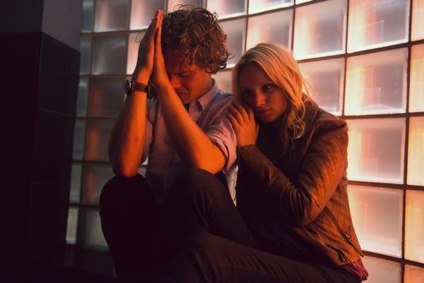So haben sich Allie und Martin ihr Date nicht vorgestellt (Foto: Tiberius Film)