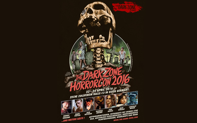Die Messe für Horror-Fans: The Dark Zone Horrorcon 2016
