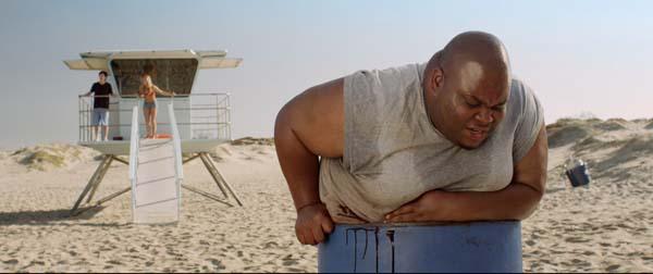 Biggest Loser: Gilbert (Cleo Berry) hat selbst in der ohnehin schon misslichen Lage noch den schlechtesten Platz erwischt (Foto: Tiberius Film)