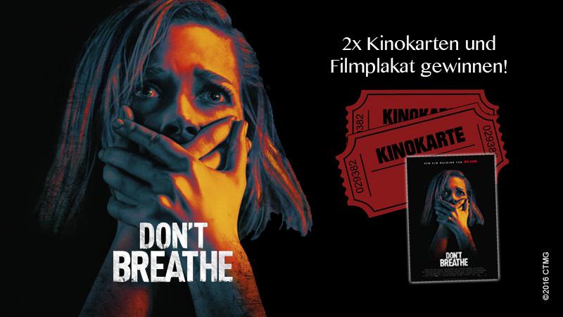 """Gewinnspiel zu """"Don't Breathe"""""""