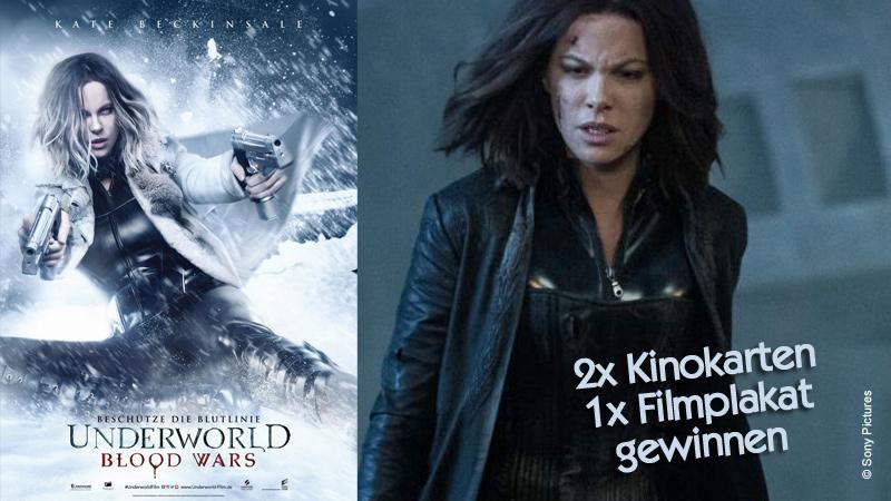 """Gewinnspiel zu """"Underworld: Blood Wars"""""""