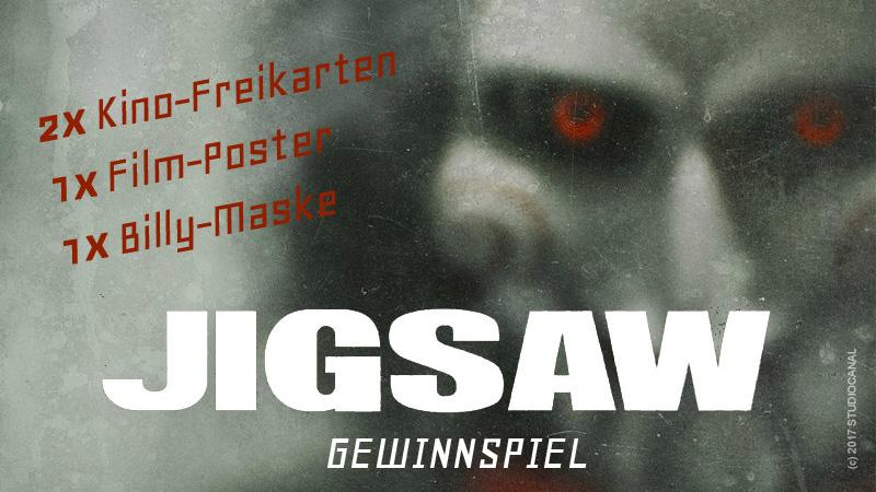 """Gewinnspiel zu """"Jigsaw"""""""