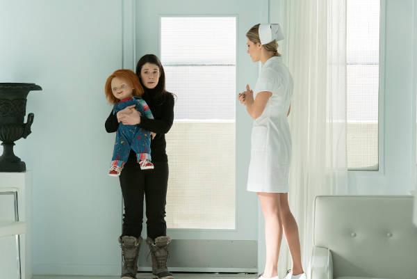 Schwarz, weiß und bunt: Chucky und die Frauen (Foto: Universal Pictures)