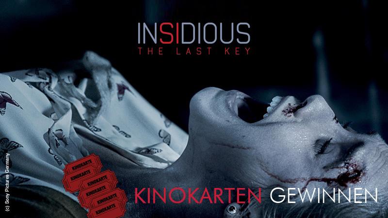 "Gewinnspiel zu ""Insidious – The Last Key"""