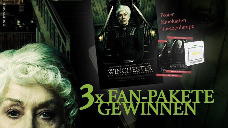 """Gewinnspiel zu """"Winchester – Das Haus der Verdammten"""""""