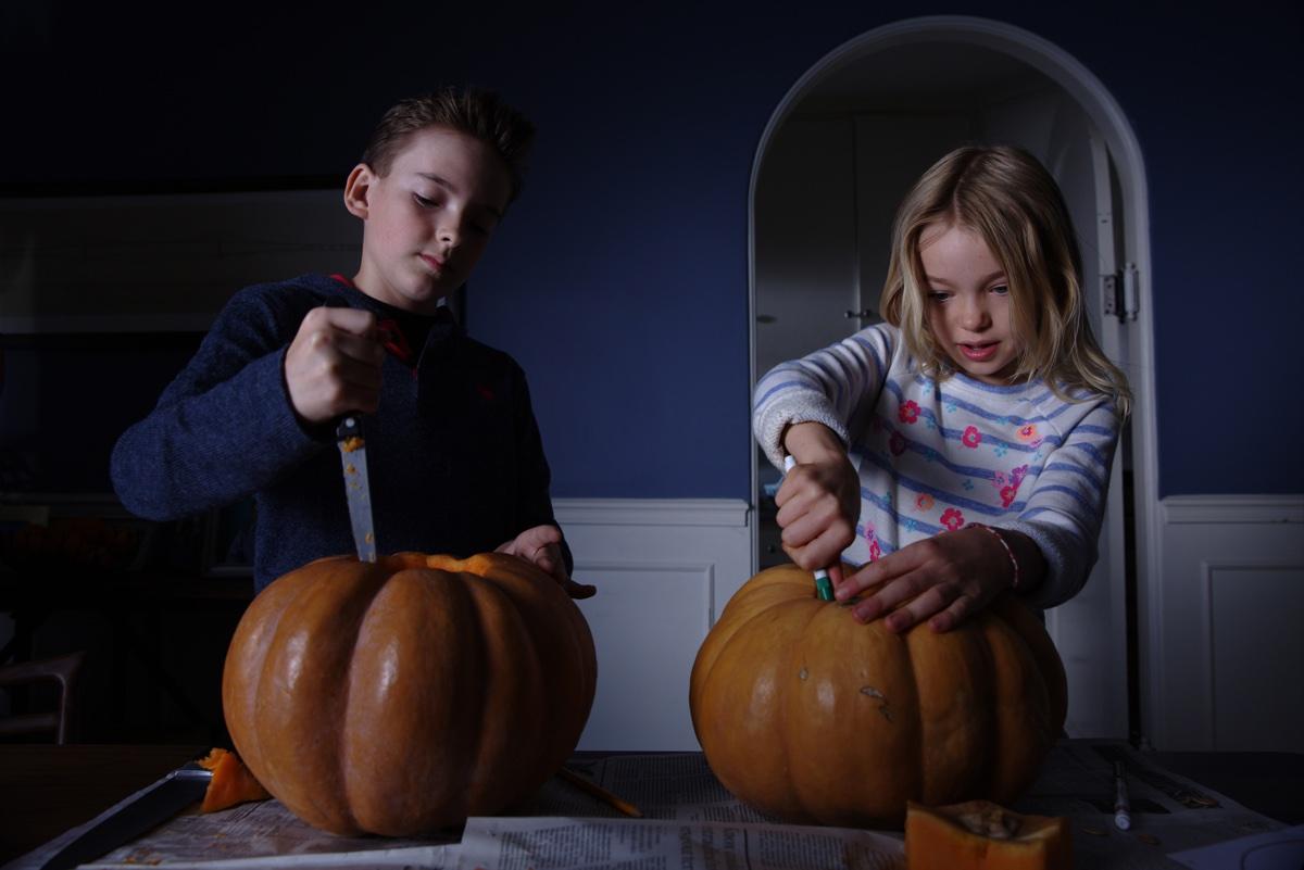 Paul und Stephanie neulich zu Halloween (Foto: Universal Pictures)