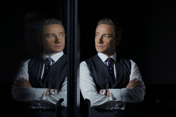 Doppelt stilsicher: Martin Freeman als Bilbo … ähh Geschäftsmann Mike (Foto: Concorde HE)