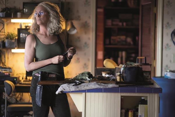 Bestens auf Myers vorbereitet: Jamie Lee Curtis als Laurie Strode (Foto: Universal Pictures)