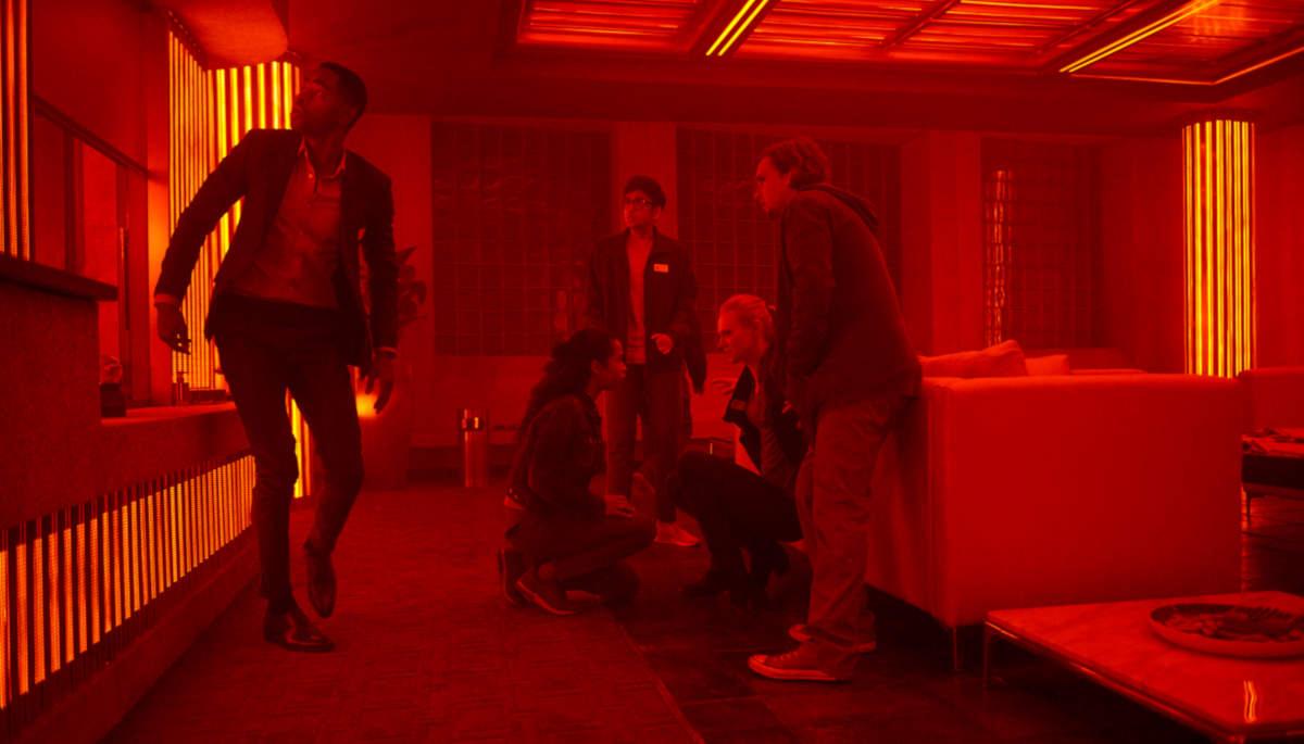 Schon im ersten Raum heizt sich die Stimmung merklich auf (Foto: Sony Pictures Entertainment)