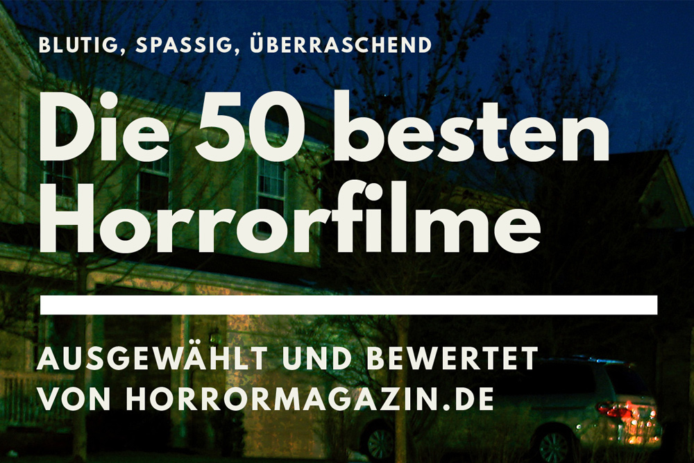 Die 50 besten Horrorfilme in Buchform und als E-Book – ab sofort erhältlich
