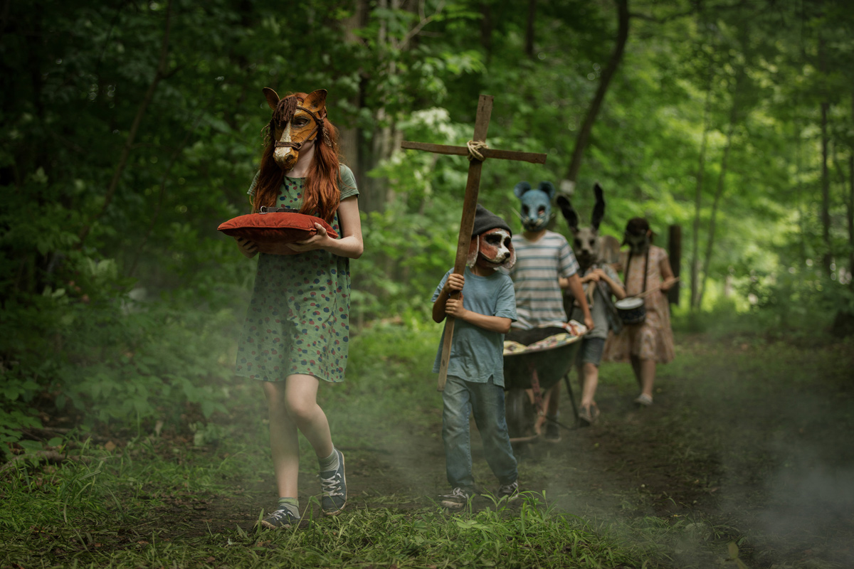 Waldspaziergang mal anders (Foto: Paramount Pictures)