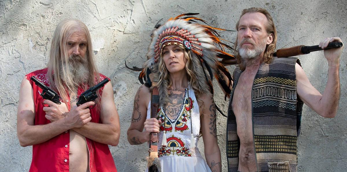 Drei aus der Hölle: Otis, Baby und Neuzugang Midnight Wolfman (Foto: Studiocanal)