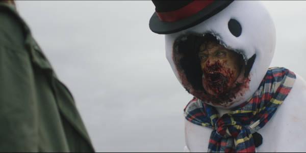 Der Schneemann hat Mundfäule (Foto: WVG Medien)