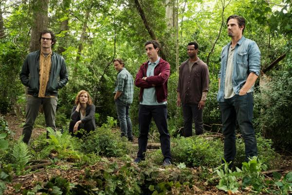 Das Bild täuscht: Der Klub der Verlierer steht überhaupt nicht im Wald (Foto: Warner Bros. Home Entertainment)